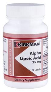 Alpha Lipoic Acid (25mg) 90 capsules