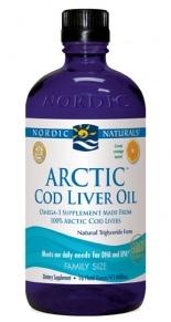 Arctic Cod Liver Oil - Orange 16oz