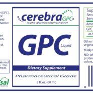 Cerebra GPC - 2oz - INGREDIENTS