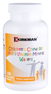 Children's Chewable Multi-Vitamin-Mineral Wafers - 180 chewables