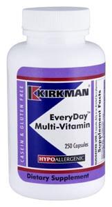 EveryDay Multi-Vitamin - Hypoallergenic - 250 capsules