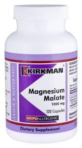 Magnesium Malate 1000 mg - Hypoallergenic - 120 capsules