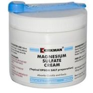 Magnesium Sulfate Cream - 4oz / 113 grams