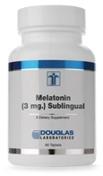 MELATONIN SUBLINGUAL 3 MG. - 60 tablets