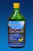 Norwegian Cod Liver Oil 16.8 fl oz (500 ml) - Lemon