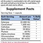 Phenol Assist - 90 capsules - INGREDIENTS