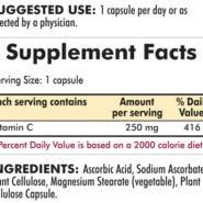 Vitamin C 250 mg - Hypoallergenic - 250 Hypoallergenic capsules - INGREDIENTS