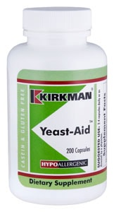 Yeast-Aid - Hypoallergenic - 200 capsules