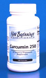 Curcumin 250mg - 100 capsules