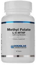 METHYL FOLATE (5-MTHF) 1mg - 60 capsules