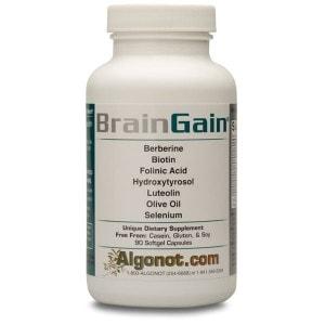 BrainGain - 90 softgels