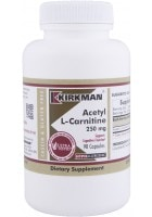 Acetyl-L-Carnitine (250mg) - 90 capsules