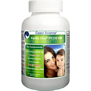 Fertile One® PCOS 600 Preconception Formula - 240 capsules