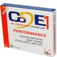Co-E1 Performance - 10 mg - 30 lozenges
