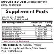 Microbiome Probiotic 8-Strain Blend - 60 capsules